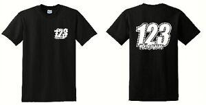 Custom Personalised race t-shirts Name & Number Motorbike Motorcross Rally mx