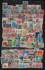 URUGUAY LOT X 450 CELEBRITY SHIELDS FAUNA ANIMALS FLORA SPORTS FLAGS CANCELLED