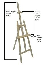 177 CM PINE WOOD EASEL ARTISTS CANVAS ARTIST LARGE STUDIO COLLEGE EASEL SO177a