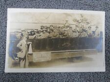1915 Circa Cliff House Sf Calif Pacific #20 Touring Bus Rppc Real Photo Postcard