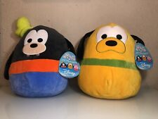 Goofy & Pluto Squishmallow Disney KellyToy New With Tag Fast Free Shipping!