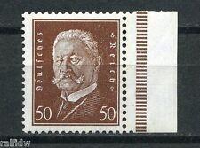 Dt. Reich 50 Pfg. Hindenburg 1928** Plattendruck SR (S7960)
