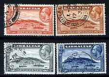 Used Multiple Gibraltarian Stamps