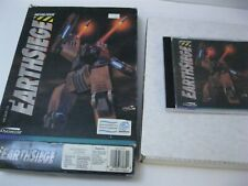 Metaltech Earthsiege PC game CD-ROM complete big box Dynamix