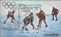 Laos Block99 (kompl.Ausg.) gestempelt 1984 Olymp. Winterspiele ´84, Sarajevo
