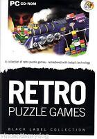 Retro Puzzle Games - Black Label Collection (PC CD-Rom)
