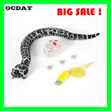 RC Remote Control Snake And Egg Rattlesnake Animal Trick Terrifying Toy Kids NEW