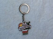 KEYCHAIN VIVA MEXICO WITH SOMBRERO AND JORONGO
