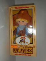 "Vintage 1981 Kinckerbocker Cowpokes Doll 9391 12"""