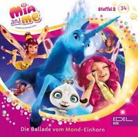 MIA AND ME - DIE BALLADE VOM MOND-EINHORN (34)-HÖRSPIEL   CD NEW