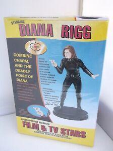 Juniper Film & Stars The Avengers Diana Rigg Resin Figure Rare Limited Edition