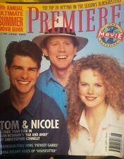 Rare Retro Premiere June 1992 Tom Cruise Nicole Kiddman