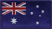 Australian Flag, Woven Badge, Patch 8cm x 4.5cm