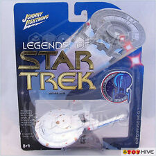 Legends of Star Trek Johnny Lightning Rare WHITE Lightning Enterprise NX-01