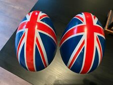 New - Union Jack Uk Flag design mirror covers for Mini Cooper F55 & F56 (Fits: Mini)