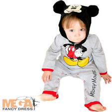 Mickey Mouse Romper Baby Boys Fancy Dress Disney Babies Childs Costume Outfit