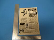 1957 Print Ads, Diving Industries, Western Radio, American Cancer Society