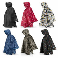 Womens Fold Up Raincoat Poncho One Size Fits All Various Patterns