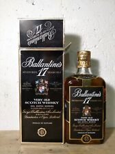 Whisky Ballantine's 17 years 1960s bottle