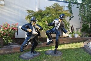 Collectable Blues Brothers Dancing Jake & Elwood 3 Foot Statues RENT OR BUY