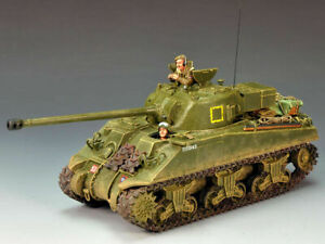 King & Country DD135 Sherman Firefly With 17 Pounder Anti Tank Gun & 2 Crew New