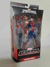 marvel legends pizza spider-man hobgoblin baf