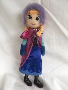 "Disney's Frozen Anna Posh Paws Cuddly Stuffed Plush Soft Toy 11"" Inch"
