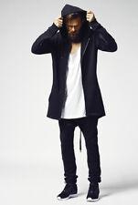Urban Classics Tb1015 Sweat Parka Streetwear Felpa cappuccio Zip Uomo L Black
