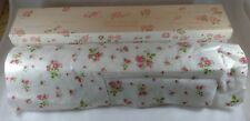 "Drawer Liner Scented Karen Carson Creations Pink Rose Cotton Back 108"" x 17.5"""