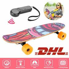 350W E-Skateboard Elektro Skateboard miniboard mit.Fernbedienung Cruiser boards4