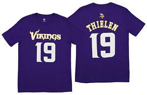 Outerstuff NFL Youth Minnesota Vikings Adam Thielen #19 Mainliner Tee