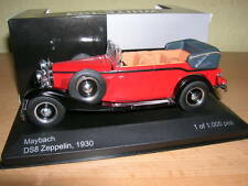 Whitebox Maybach Zeppelin DS8 Cabrio Año fabricación 1930 rojo rojo,1:43 Lim.