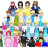 Disney Prinzessin Minifigur Arielle Eiskönigin Anna Elsa Maleficent Cinderella