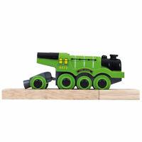 Bigjigs Rail Flying Scotsman Battery Operated Engine Locomotive Train Railway