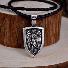 Archangel St.Michael Protect Me Saint Shield Protection pendant jewelry
