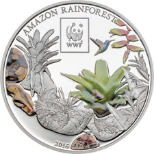 TANZANIA 2016 WWF Amazon Rainforest $1 UNC CuNi #T