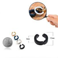 Clip-on Earrings Earcuff Clip Earring Without Piercing Punk  Women Men Jewelry
