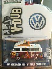 Greenlight 1:64 VW Volkswagen Westfalia Camper 1973 Club V Dub #29940-C