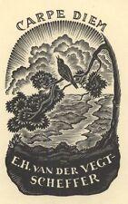 Ex Libris Thijs Mauve : Opus 13, E.H. van der Vegt-Scheffer