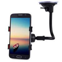 360° Long Arm Car Windshield Dashboard Holder Sucker Cup Car Phone Holder Stand-