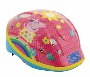 Peppa Pig Childs Cycling Safety Helmet Bike Scooter