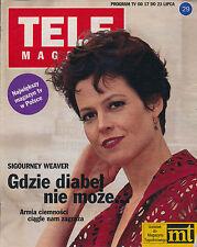 TELE MAGAZYN 92/29 (17/7/92) SIGOURNEY WEAVER genevieve bujold alain delon FONDA