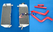 For YAMAHA YZ 125 YZ125 02 03 04 2002 2003 2004 Aluminum Radiator and hose RED