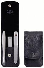 Zwilling Twinox Manicure Etui schwarz 3-tlg.Taschenetui  zeitloser Design Beauyt
