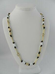 Robert Lee Morris Soho Gold-Tone  Beaded  Necklace