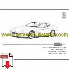 1998 Ferrari 456M workshop manual vol2 1338/98 PDF (it/fr/uk/de)