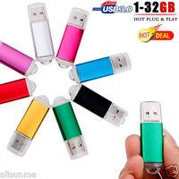 USB 3.0 8GB 16GB 32GB Lot Flash Drive Memory Stick Storage Pen Disk Thumb U Disk