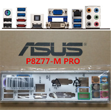 Original ASUS IO I/O SHIELD BLENDE BRACKET FOR P8Z77-M PRO #G455 XH
