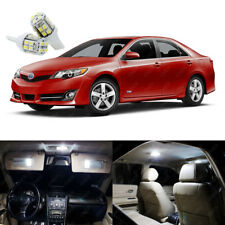 11 x Xenon White LED Interior Lights Package Kit For Toyota Camry 2012 - 2014