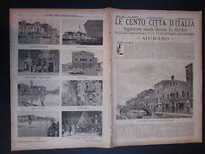 1902 MURANO Le Cento Città d'Italia Sonzogno Editore riccamente illustrato